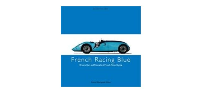 French Racing Blue, cover