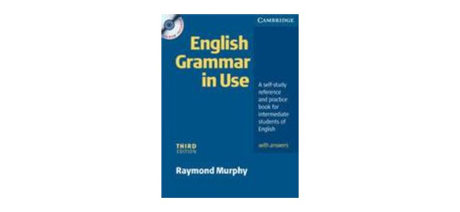 English Grammar in Use, book cover