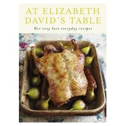 At Elizabeth David's Table, cover