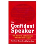 The Confident Speaker, cover
