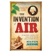The Invention of Air, Story of Joseph Priestley - cover