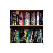 Writer's reference book shelves
