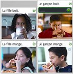 Rosetta Stone, French screen shot